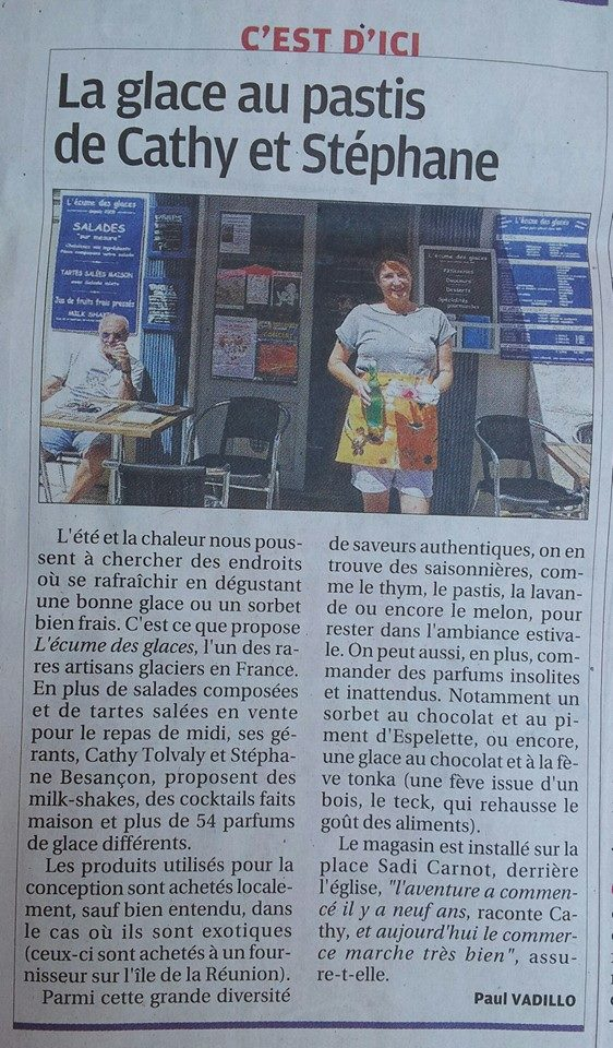 article provence 2014